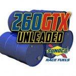 Sunoco 260GTX Unleaded Racing Fuel