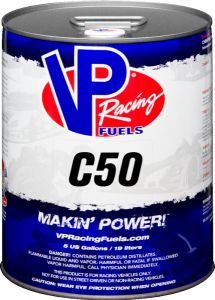 VP C50 Unleaded Racing Fuel